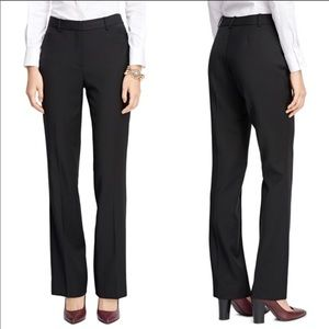 Brooks Brothers Black Camelhair Trousers 10 NWT